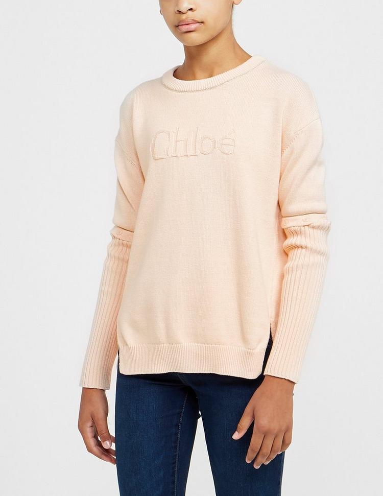 Chloe Logo Knitted Sweatshirt