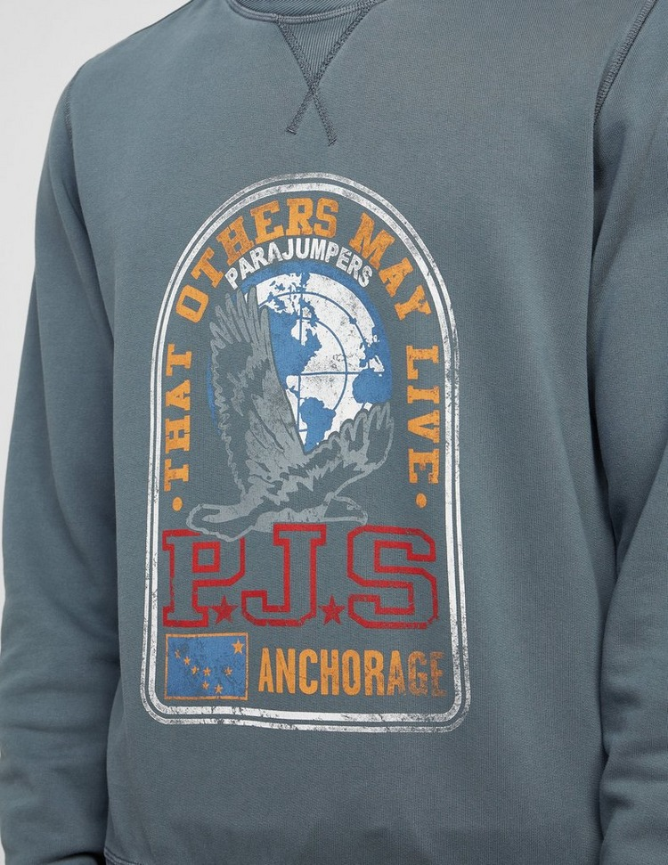 Parajumpers Nate Large Badge Sweatshirt