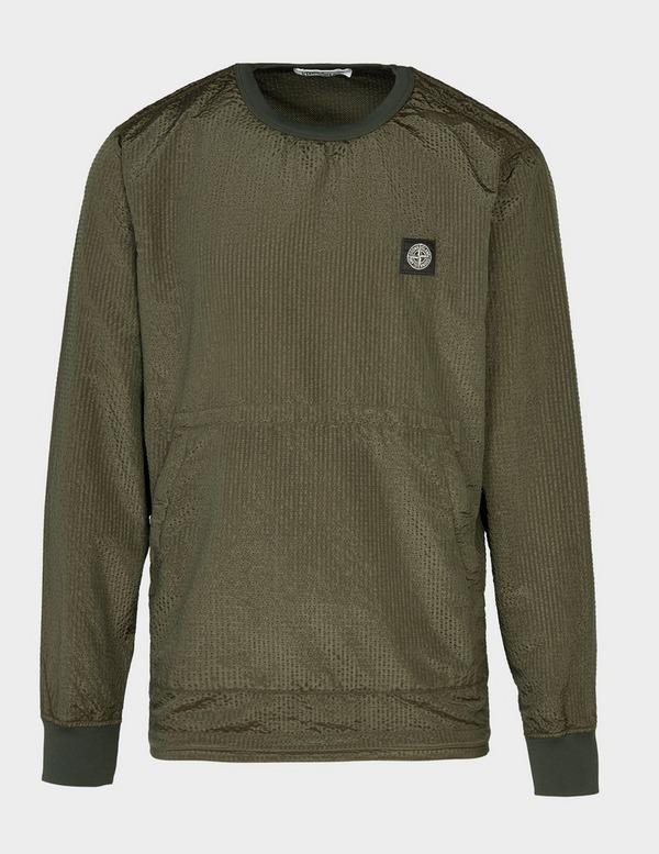 Stone Island Weft Nylon Metal Sweatshirt