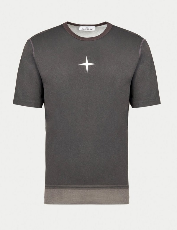 Stone Island Pigment Dye Compass T-Shirt