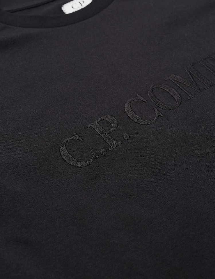 CP Company Embroidered Logo Short Sleeve T-Shirt