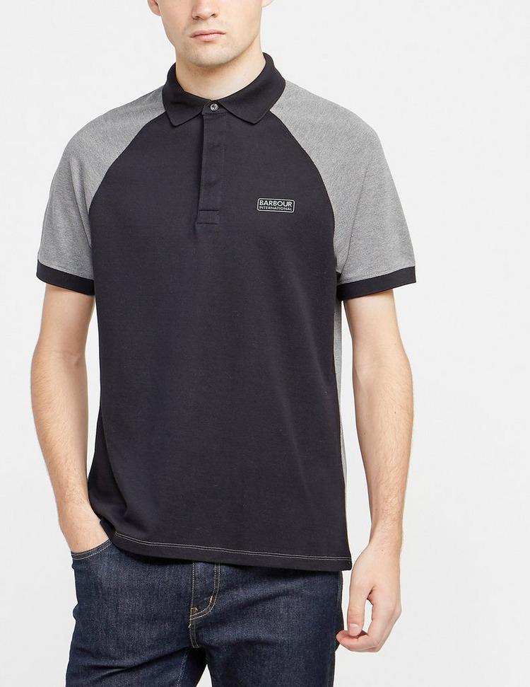 Barbour International Raglan Short Sleeve Polo Shirt