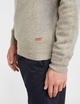 Barbour Lambs Patch Half Zip Sweatshirt