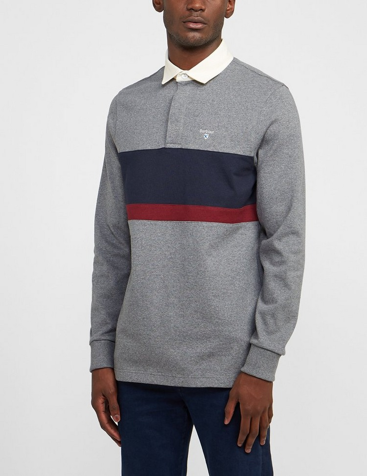 Barbour Weston Panel Rugby Shirt