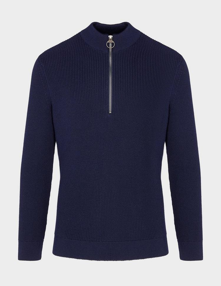 Barbour Half Zip Knitted Sweatshirt