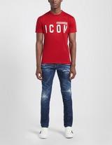 Dsquared2 Icon Large Logo Short Sleeve T-Shirt