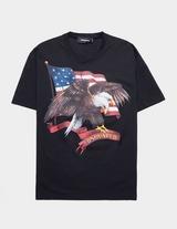Dsquared2 Icon Eagle Short Sleeve T-Shirt