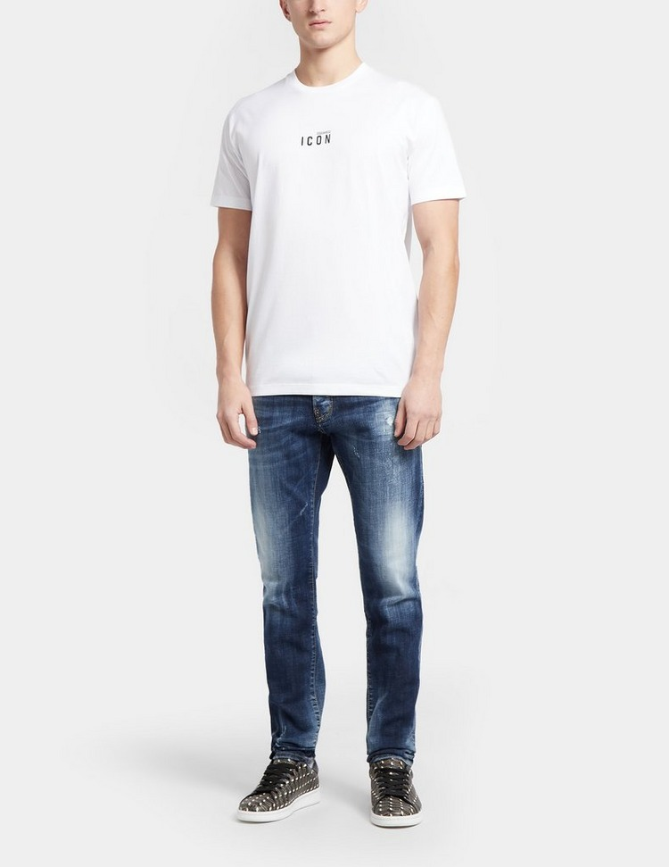 Dsquared2 ICON Centre Logo Short Sleeve T-Shirt