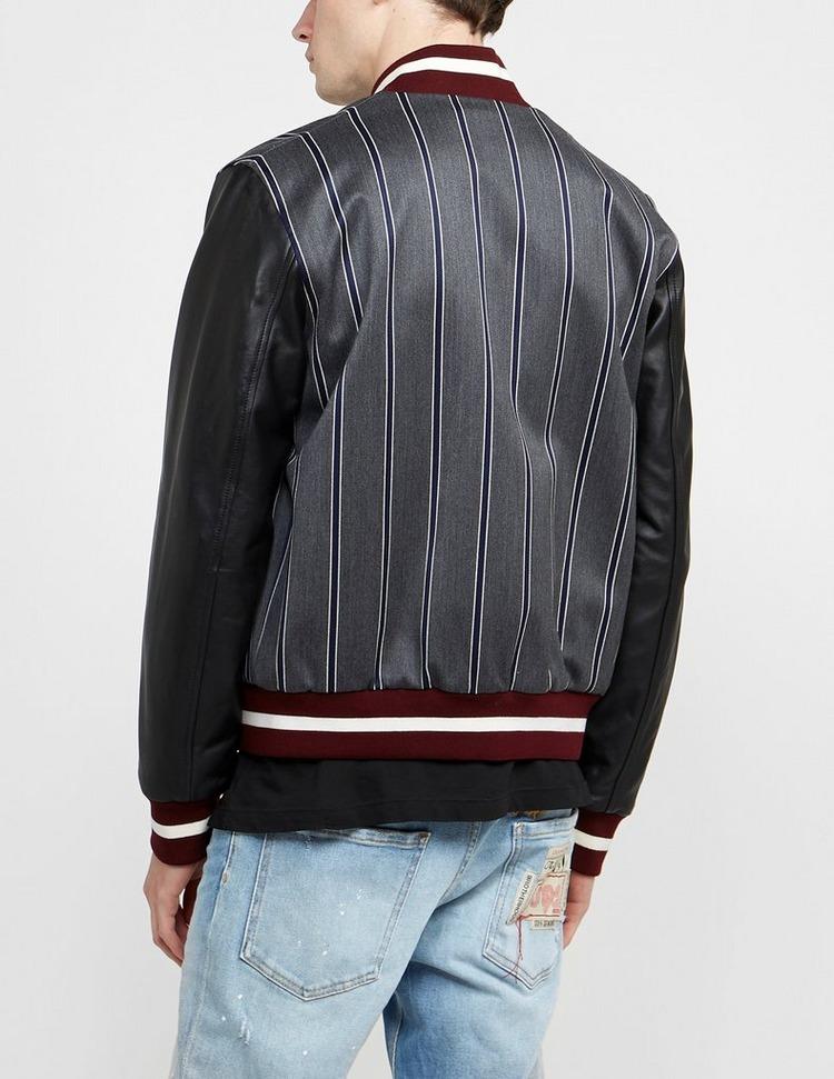 Dsquared2 Pin Stripe College Varsity Jacket