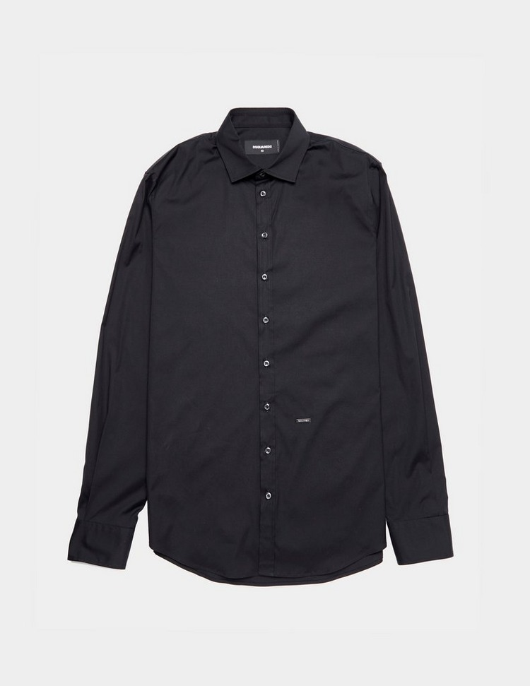 Dsquared2 Stretch Long Sleeve Poplin Shirt