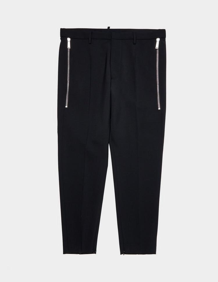 Dsquared2 Slim Wool Zip Pants