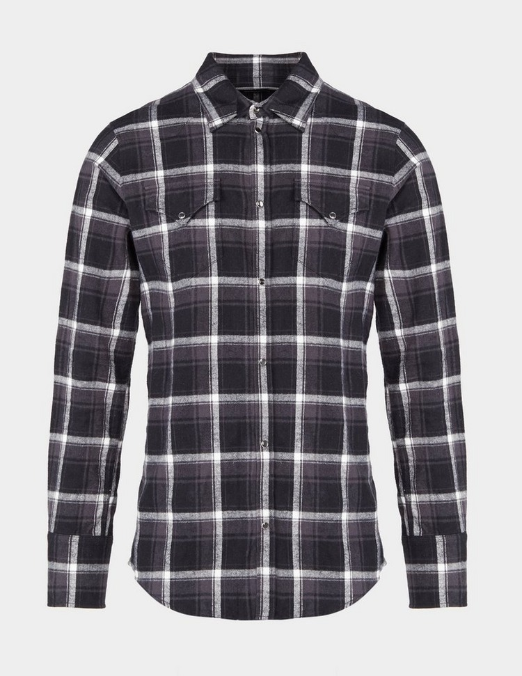 Dsquared2 Show Checked Long Sleeve Shirt