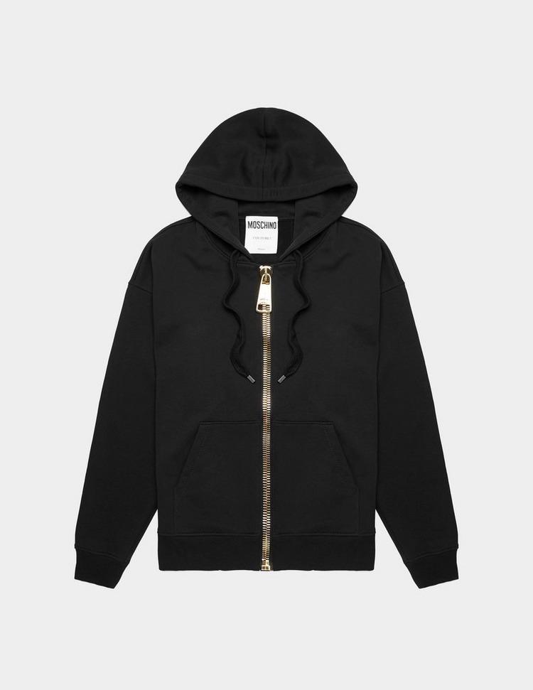 Moschino Large Zip Hoodie