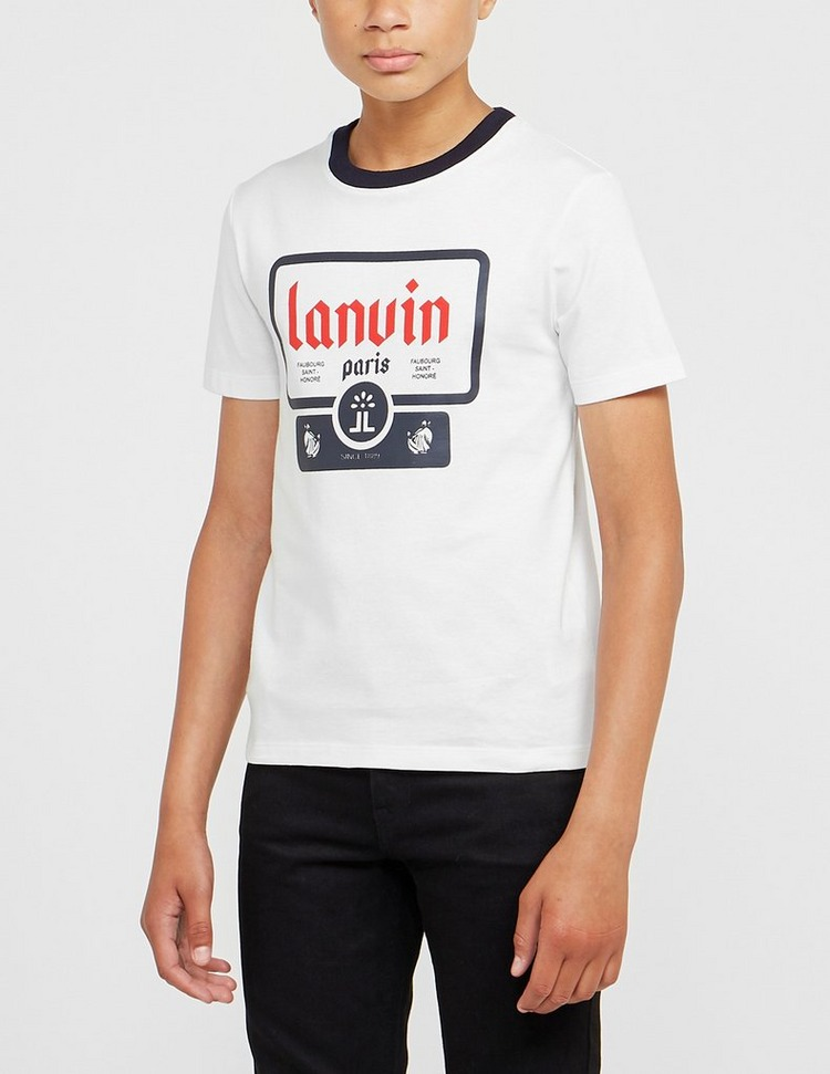 Lanvin Box Logo T-Shirt