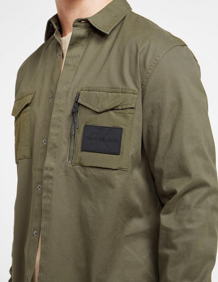 Calvin Klein Jeans Zip Pocket Utility Shirt