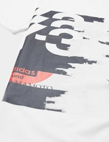 Y-3 Front Print Short Sleeve T-Shirt
