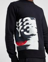 Y-3 Front Print Sweatshirt