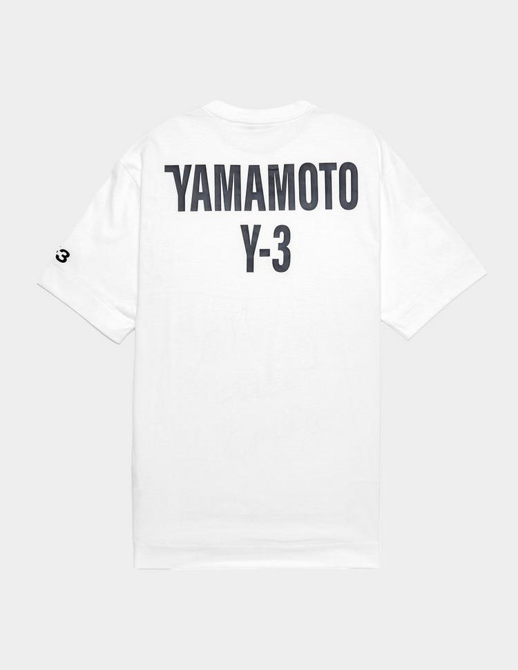 Y-3 Back Logo Short Sleeve T-Shirt