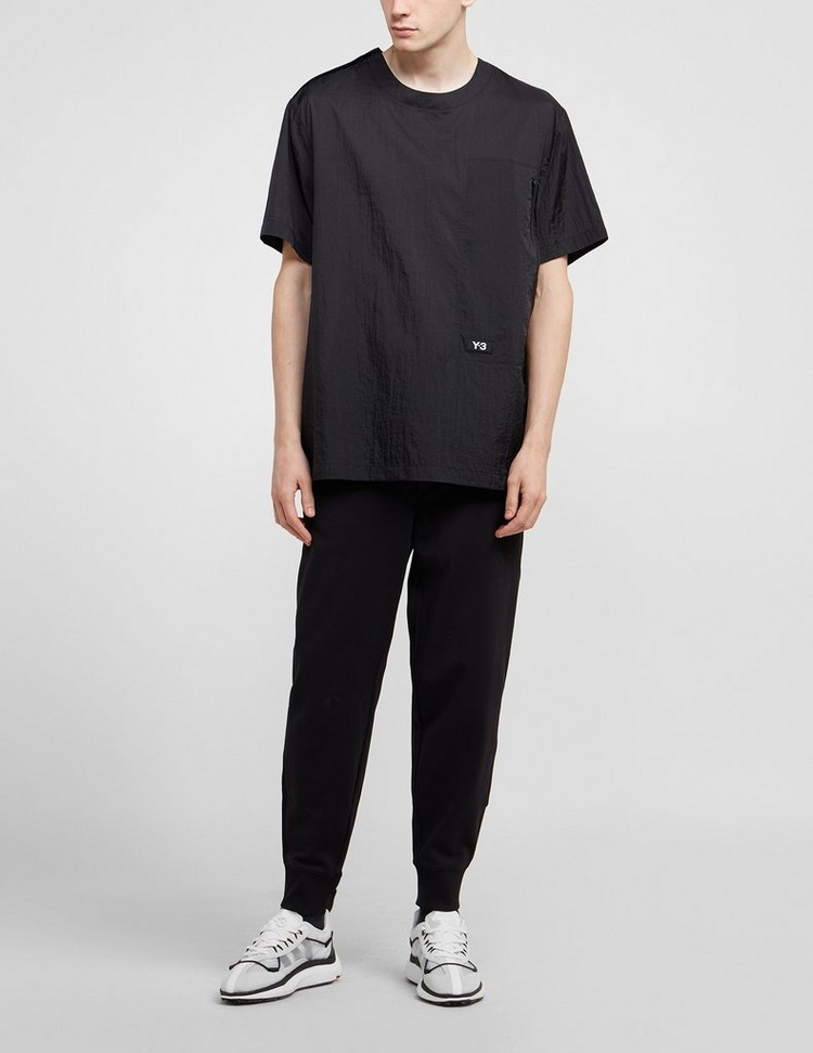 Y-3 Logo Feather Short Sleeve T-Shirt