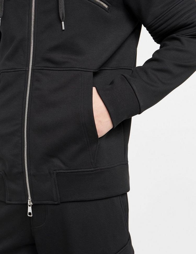 Neil Barrett Zip Detail Biker Hoodie
