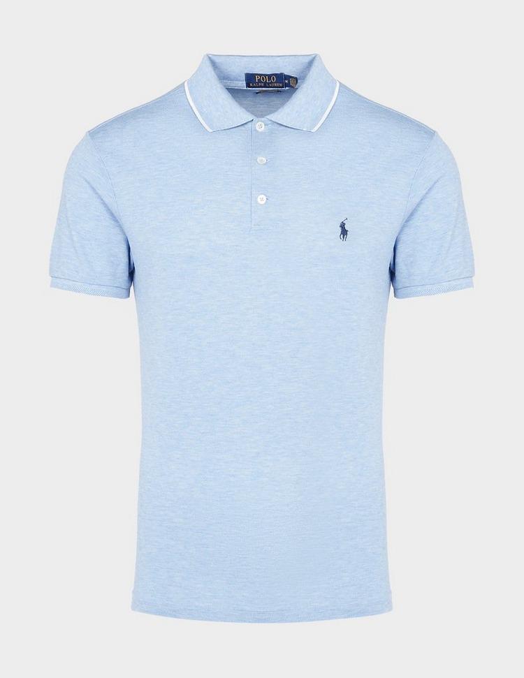 Polo Ralph Lauren Tip Short Sleeve Mesh Polo Shirt