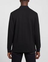 PS Paul Smith Basic Zebra Long Sleeve Polo Shirt