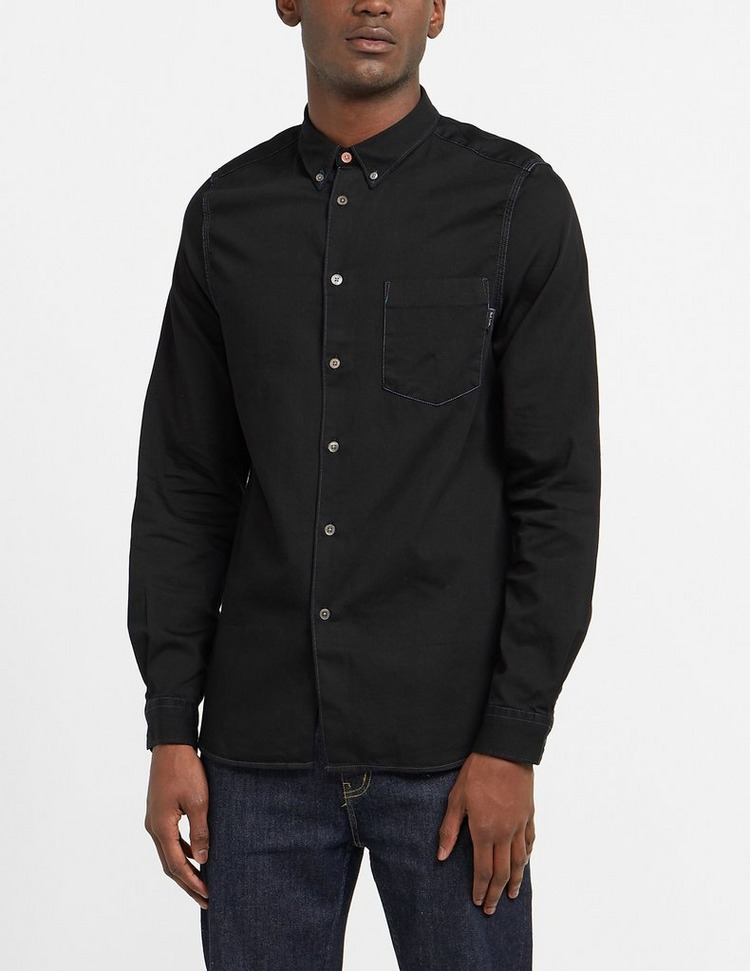 PS Paul Smith Stitch Detail Long Sleeve Shirt