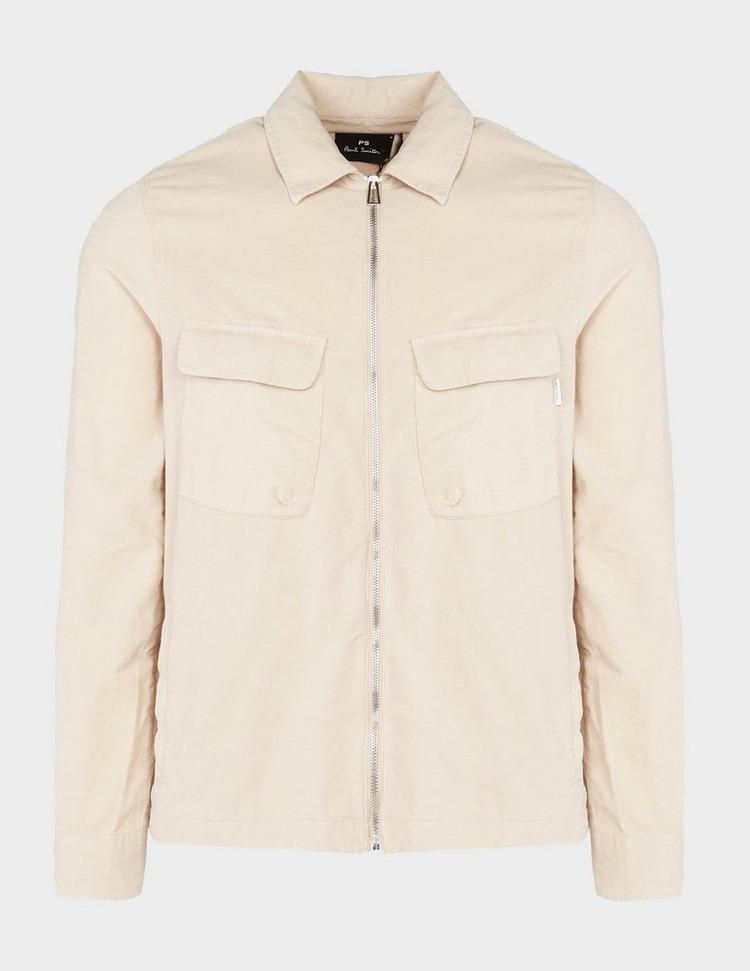 PS Paul Smith Two Pocket Zip Cord Long Sleeve Shirt