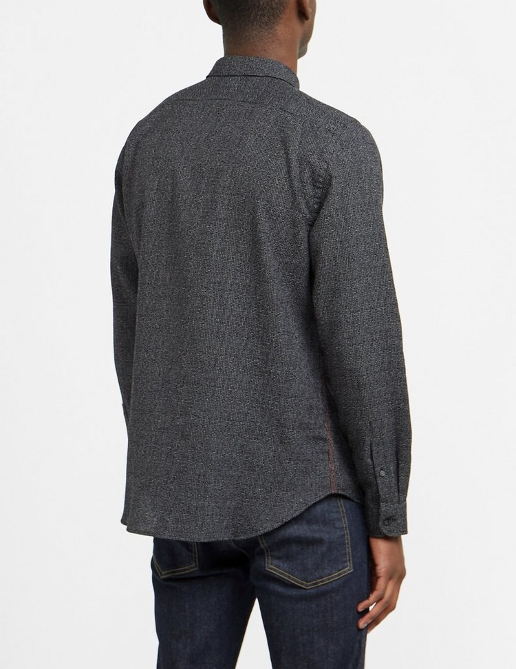 PS Paul Smith Cross Stitch Long Sleeve Shirt