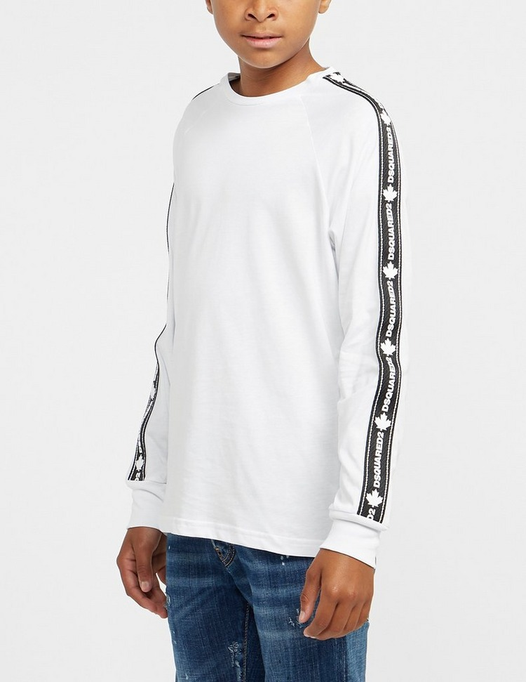 Dsquared2 Long Sleeve Tape T-Shirt