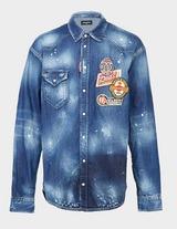Dsquared2 Patch Denim Shirt