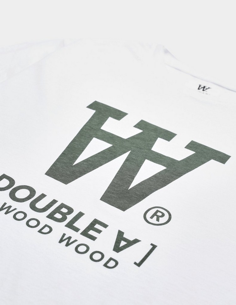 Wood Wood Ace Large Logo T-Shirt