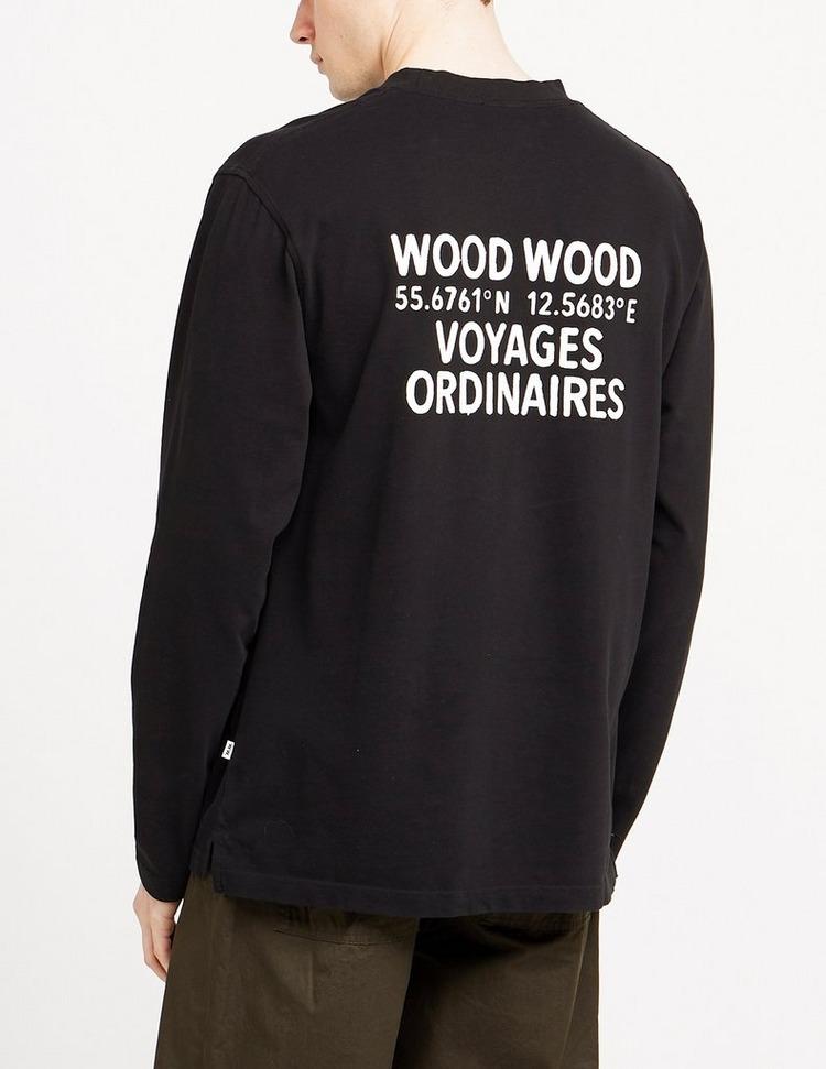 Wood Wood Anakin Long Sleeve T-Shirt