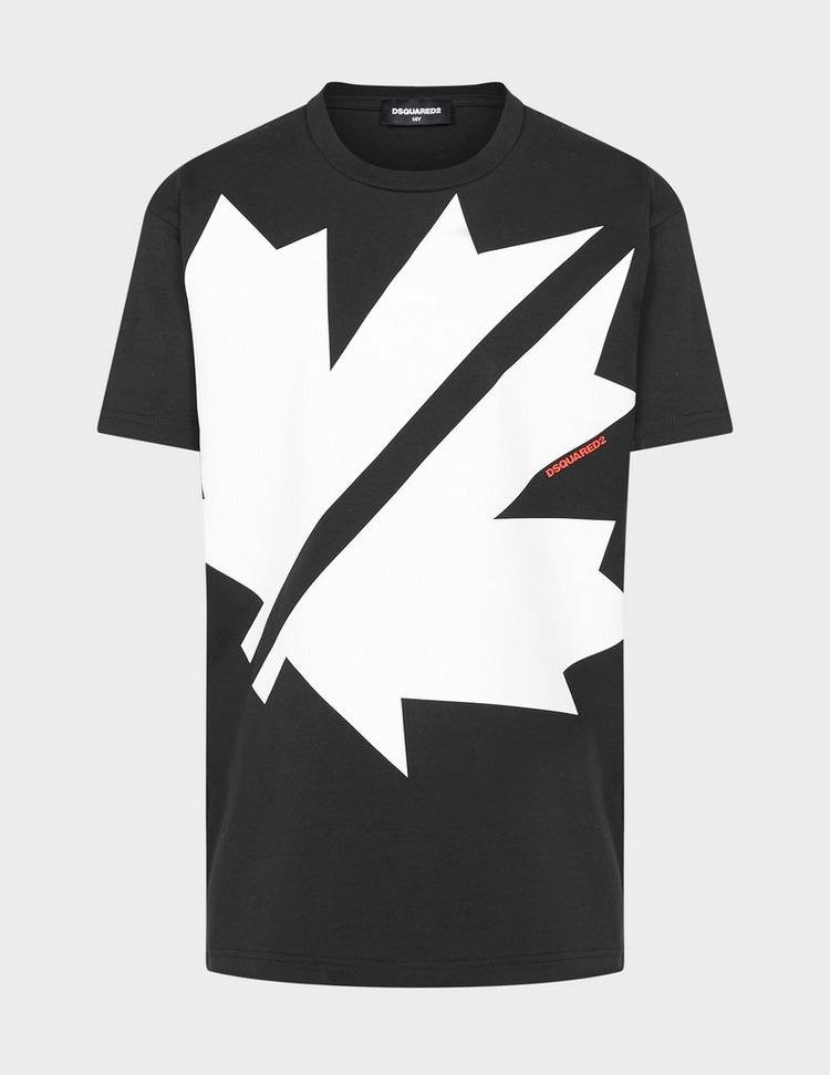 Dsquared2 Large Leaf T-Shirt