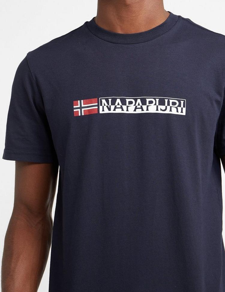 Napapijri Central Logo Short Sleeve T-Shirt