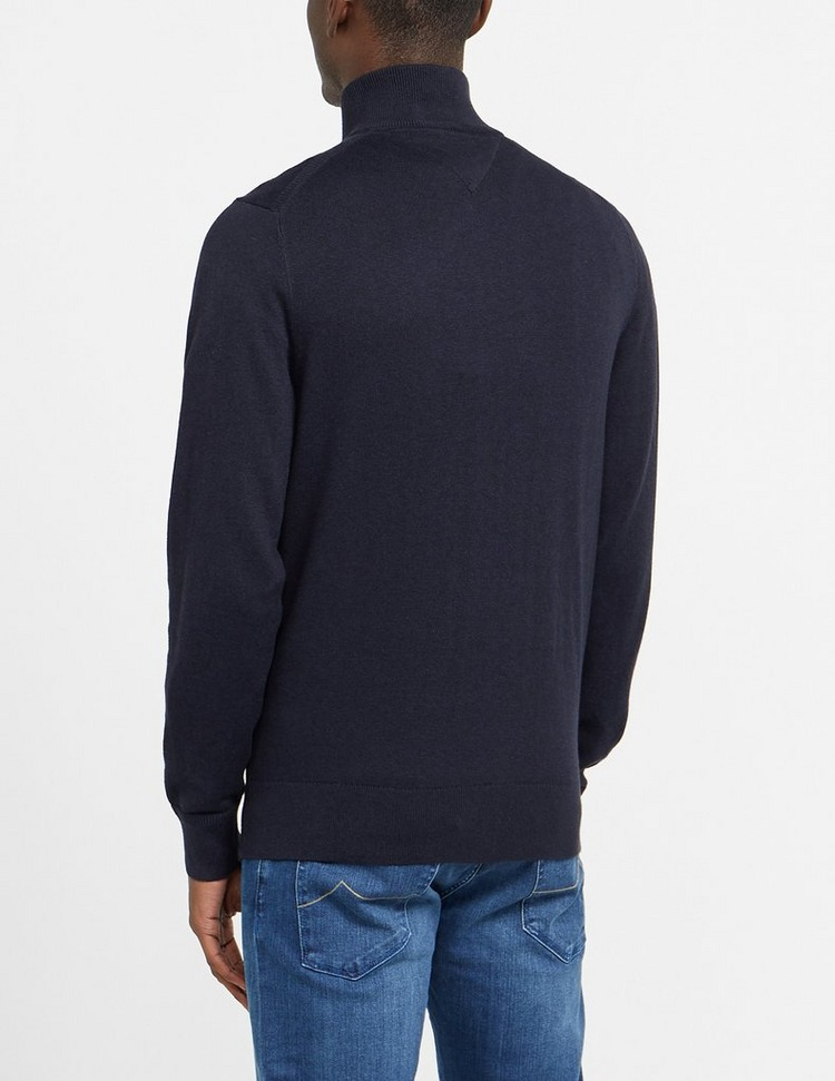 Tommy Hilfiger Pima Cashmere Half Zip Sweatshirt