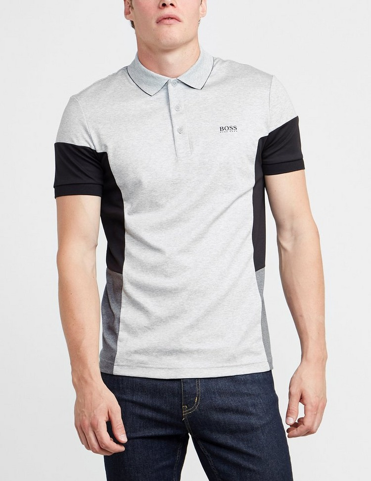 BOSS Paul E1 Side Block Short Sleeve Polo Shirt