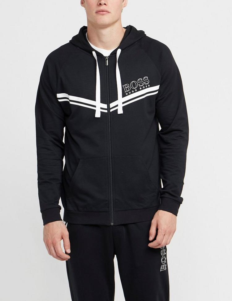 BOSS Authentic Chevron Full Zip Hoodie