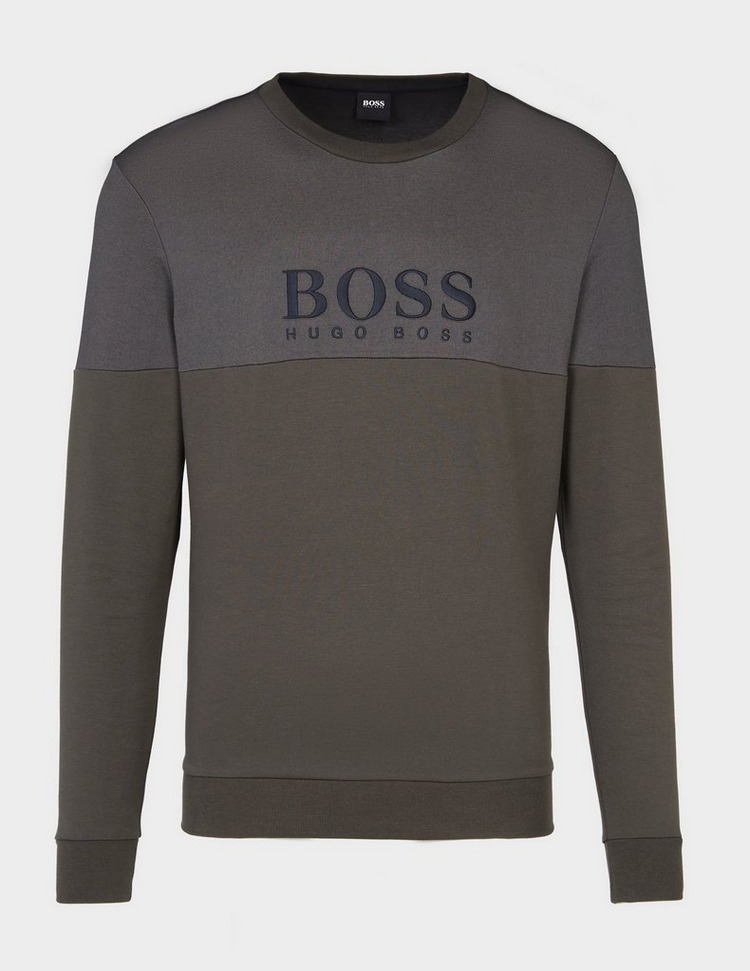 BOSS Pique Mix Sweatshirt