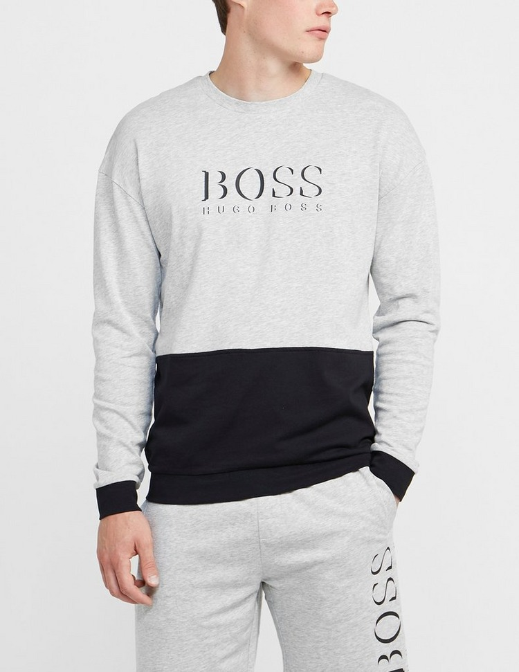 BOSS Split Logo Sweatshirt