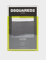 Dsquared2 3 Pack Repeat Logo Boxer Shorts