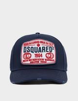 Dsquared2 Globe Patch Cap