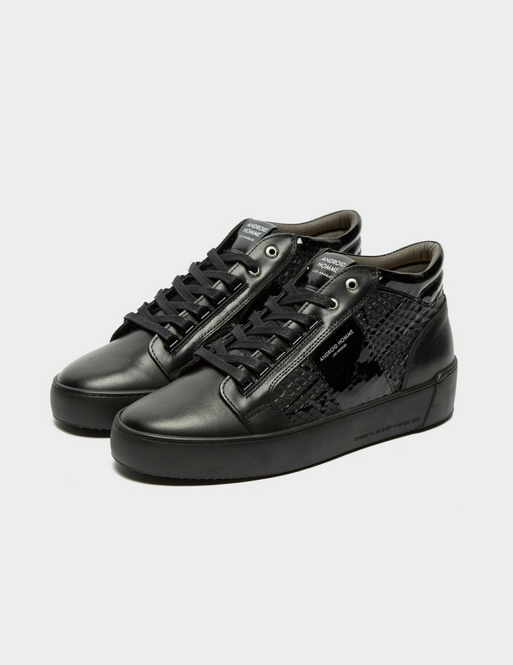 Android Homme Propulsion Mid Patent Python Trainers