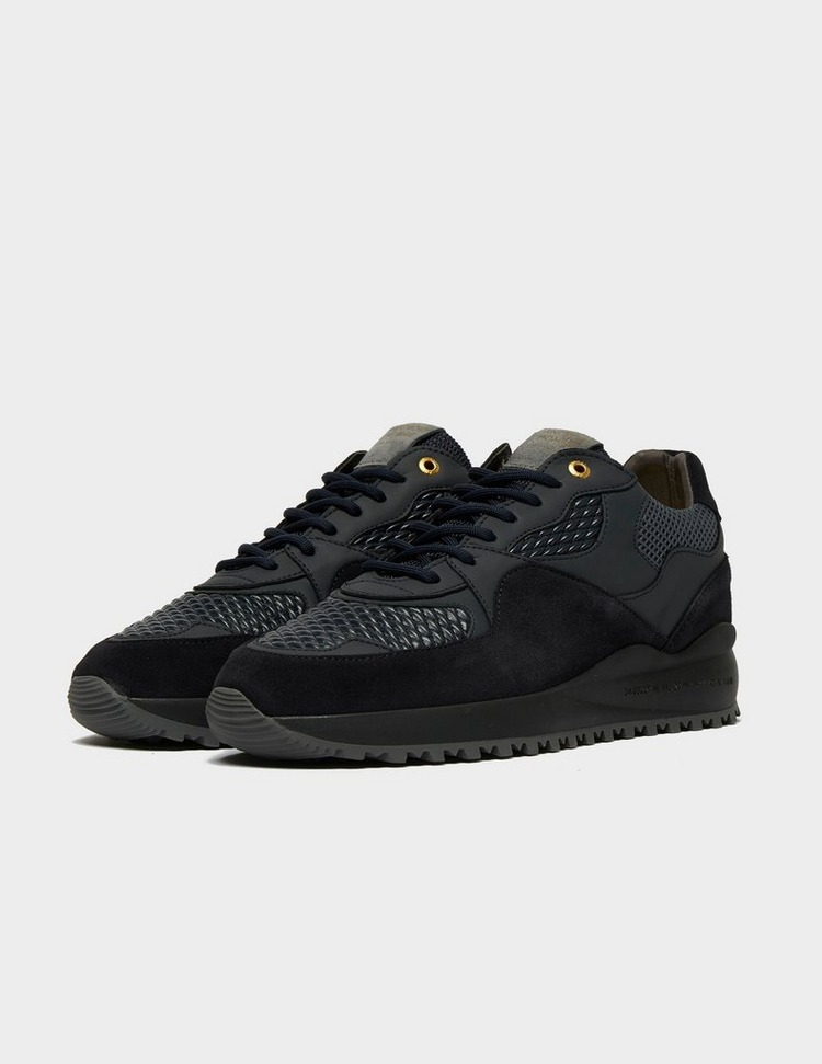 Android Homme Santa Monica Woven Leather Trainers