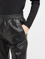 BOSS Faux Leather Joggers