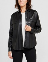 BOSS Faux Leather Shirt