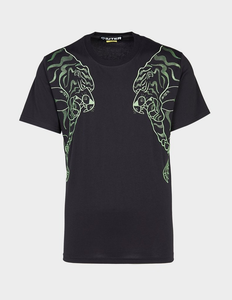 IUTER Double Nepal Embroidered Short Sleeve T-Shirt