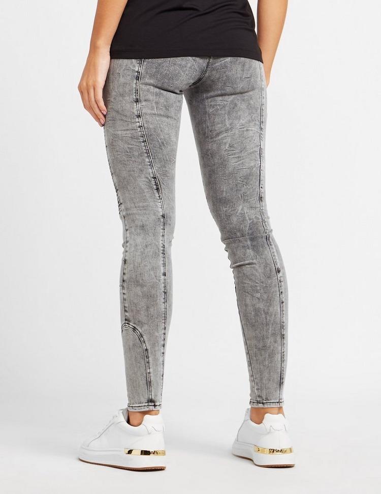 Holland Cooper Biker Distressed Skinny Jeans