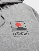 Edwin Sunset Fuji Overhead Hoodie