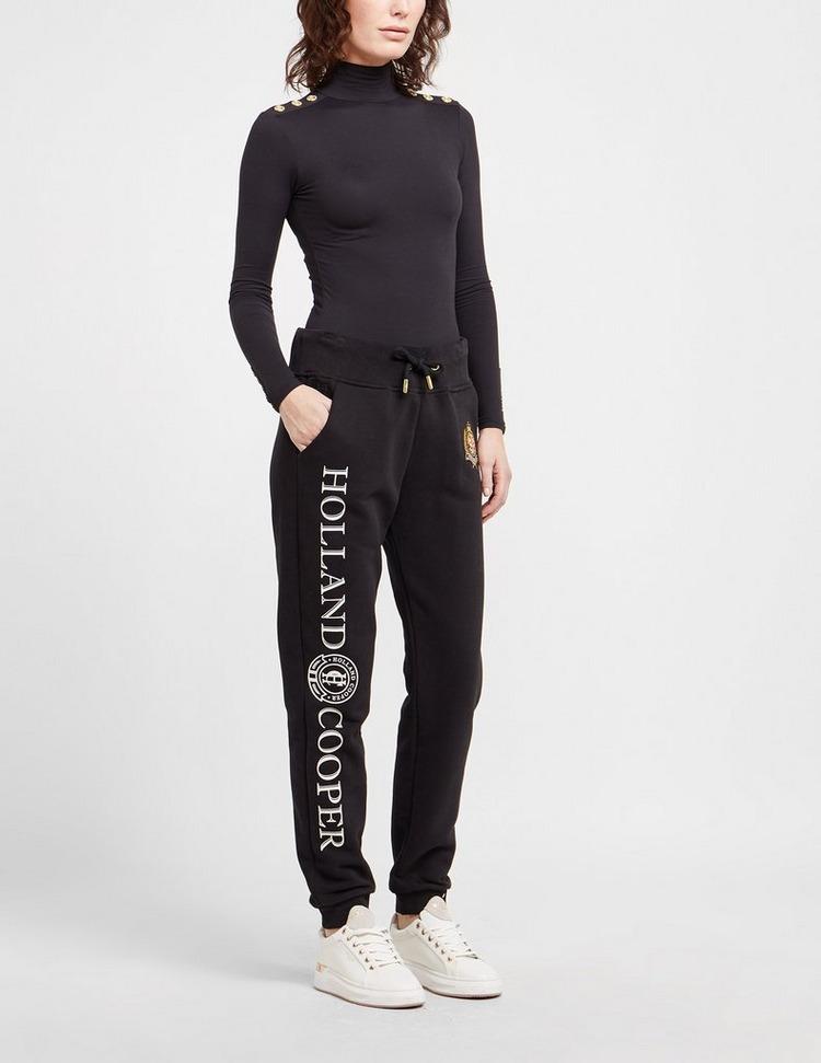 Holland Cooper High Neck Button Long Sleeve Bodysuit